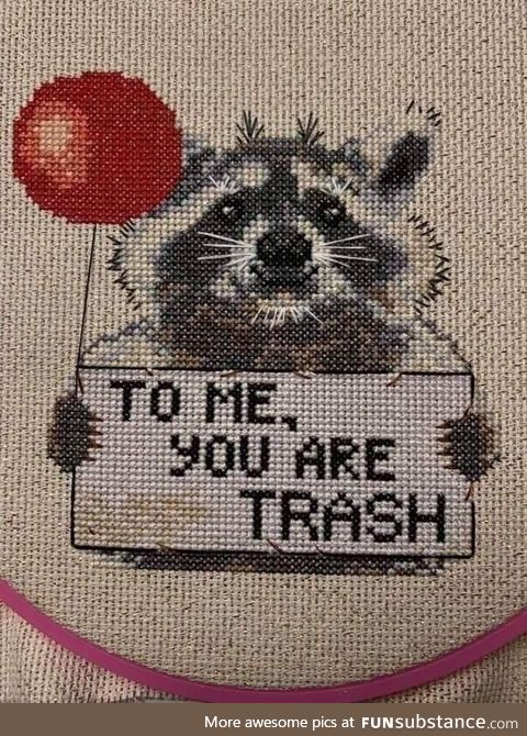 Picking up crochet