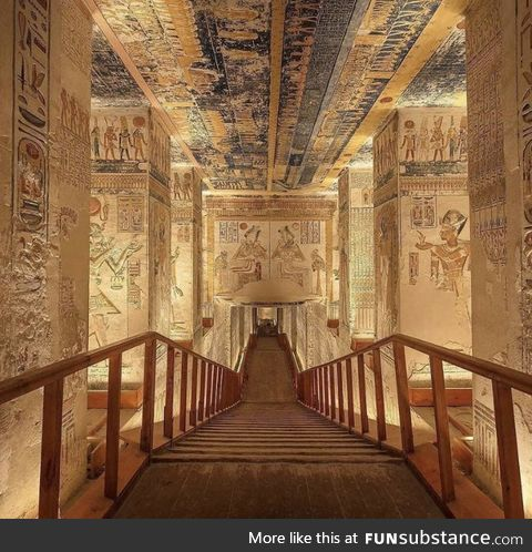 Inside The Tomb of Ramesses VI, The Valley of Kings, Egypt