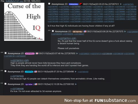 Anon is high IQ