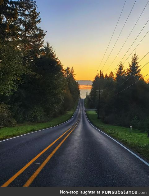 A beautiful morning in the northwest