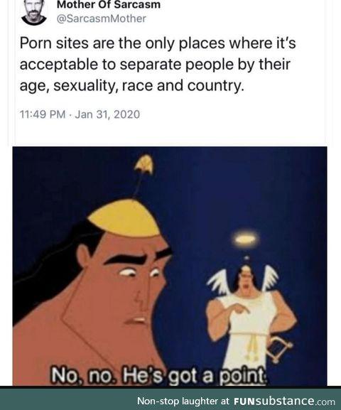 **** segregation