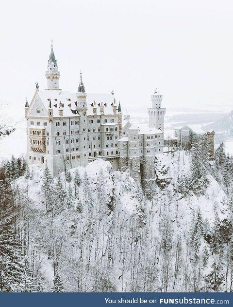 Neuschwanstein Castle, Germany (in winter!)