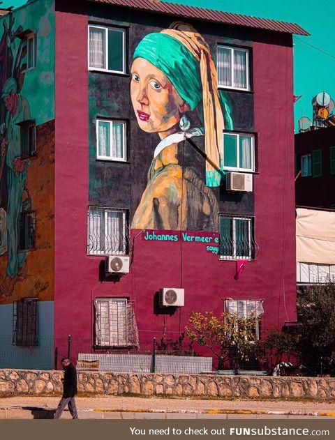 """""""Respects for Johannes Vermeer"""", Mersin / Turkey"""