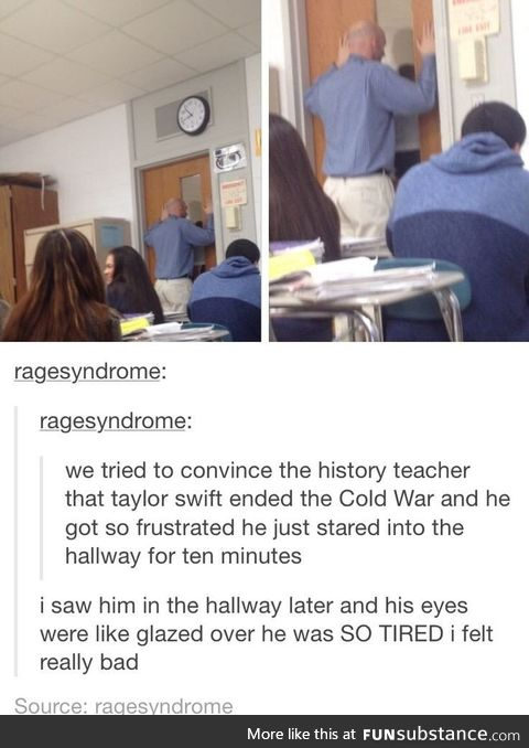When teachers lose hope