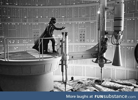 Ignore the mattresses, Luke... - Lord Vader, probably