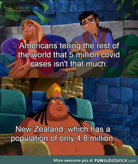 New zealand do be chillin though