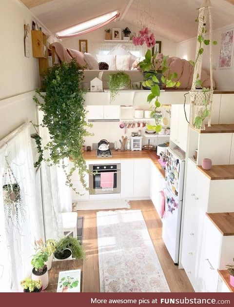 This ticks all of our tiny house dreams!