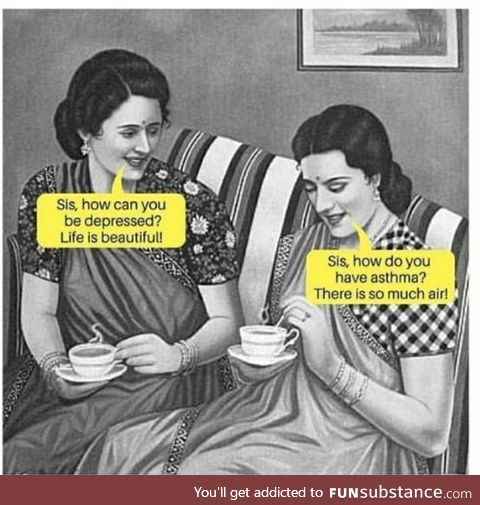 Sips tea*
