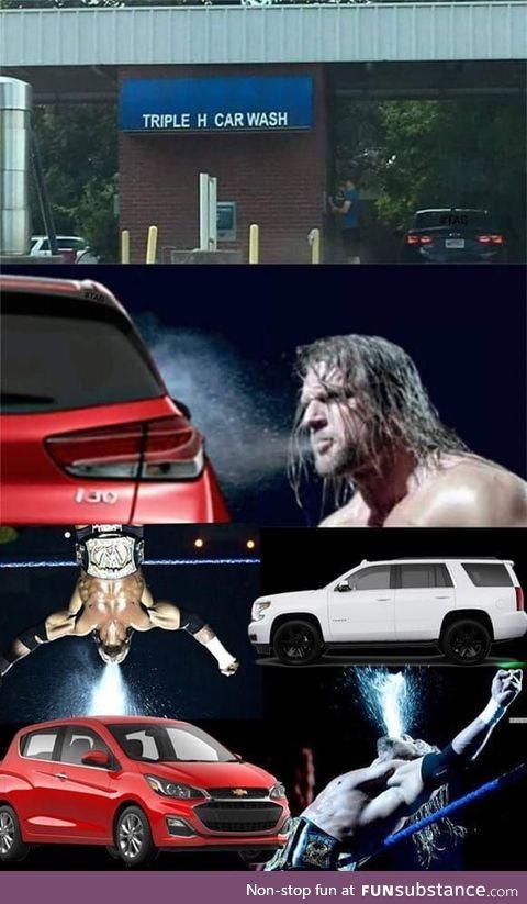 Triple h car wash