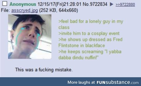 Anon made a Mistake