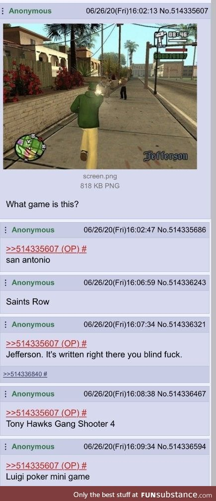 /v/irgin asks about a game