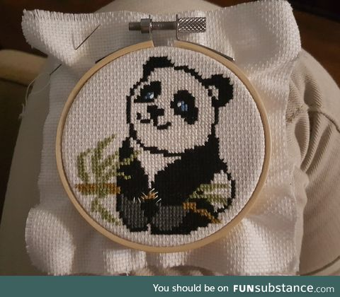 Cross Stitch Panda