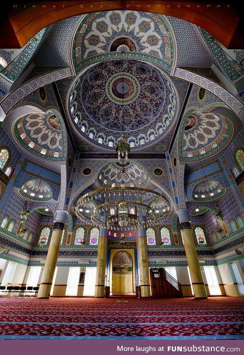 Interior of a Mosque, Pakistan