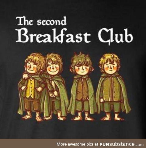 The second breakfast club shirt