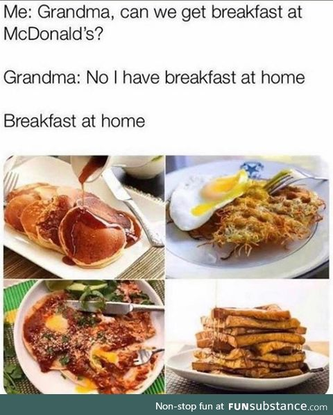 Gran was good on her word