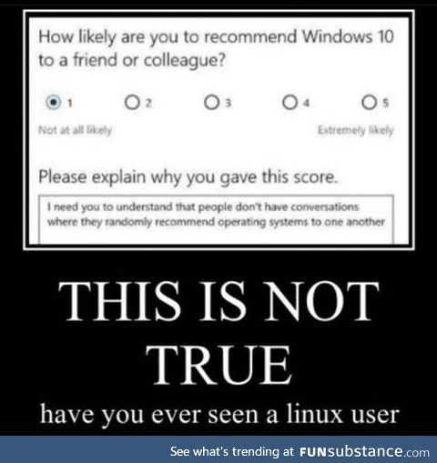 It's Linus from tech tips not Linux