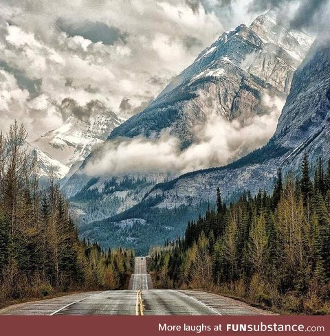 Road to Clouds - AB, Canada