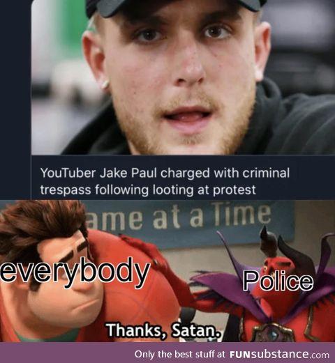 Bye bye Jake Paul