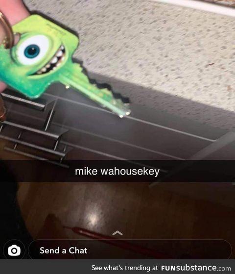 Mike wahousekey