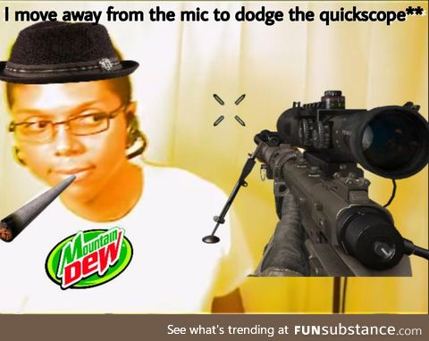 """From Today's Meme Archives: """"Chocolate Rain"""" (est. 2007). Some stay dry and"""