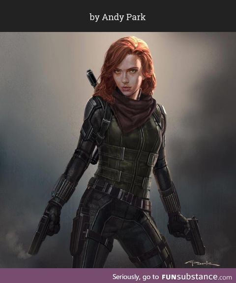 Some awesome Avengers: Infinity War Black Widow concept art