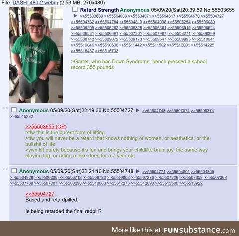 /fit/ finds the secret to being strong