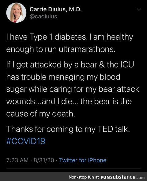 Beware the bears