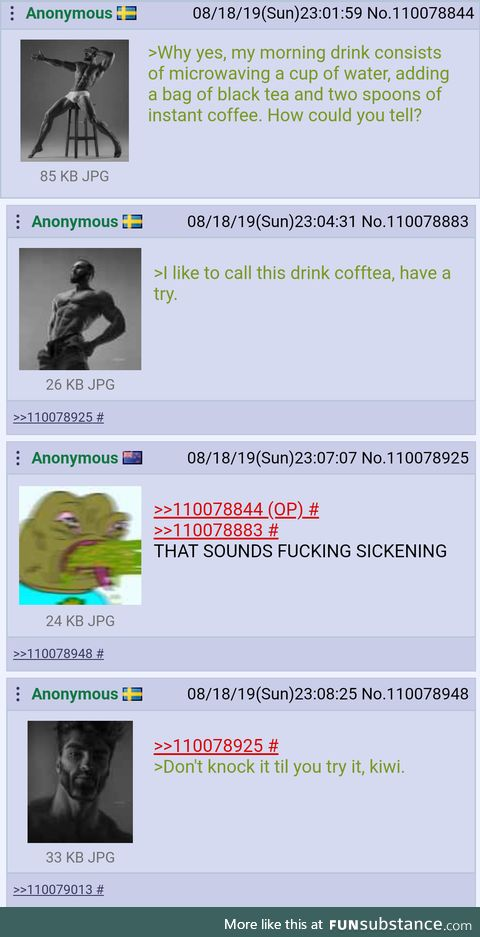 SwedeChad invents a drink