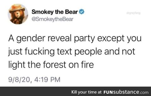 You don't want smoke with Smokey