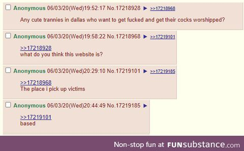 Anon posts an ad