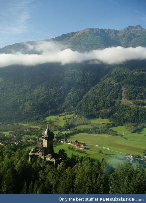 Falkenstein Castle, Carinthia, Austria. Built in the 1100s.
