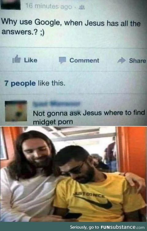 Blursed jesus