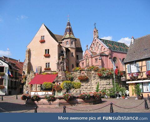 Egisheim Chateau, France