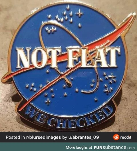 Not flat we checked