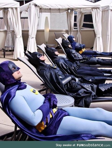 Batman moment