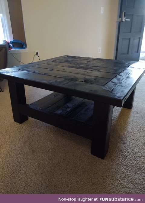 I Made a Coffee Table
