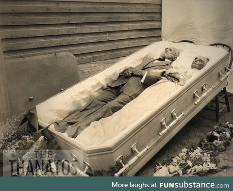 A casket, for two