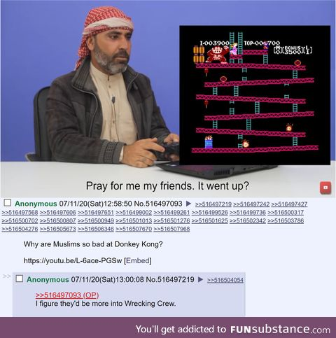 Muslims are bad at video games