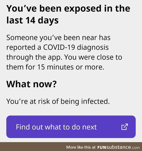 COVID-19 App works!