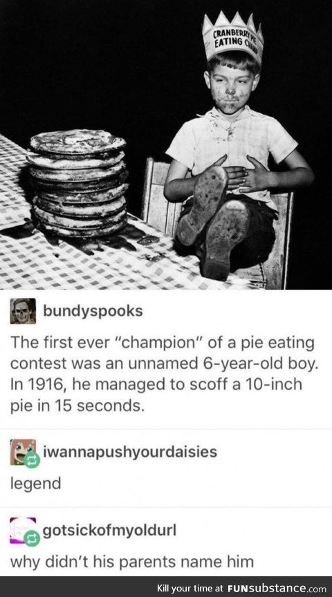 Been through the dessert as a boy with no name
