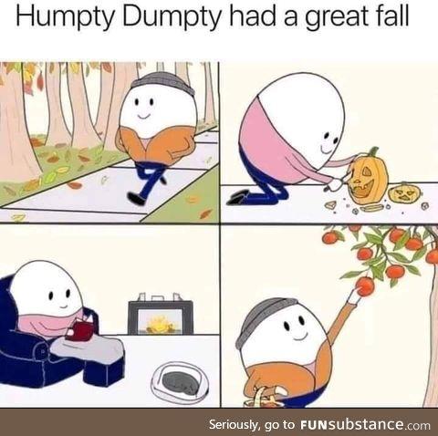 Happy humpty