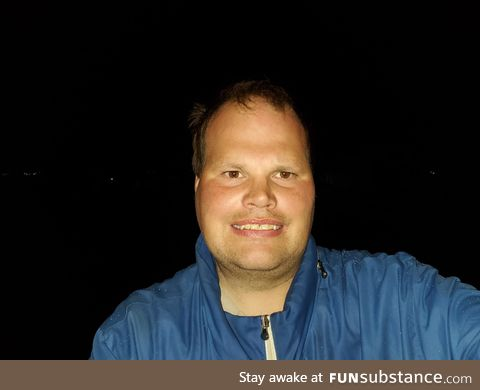 Frankie MacDonald took a Night time Picture of Myself