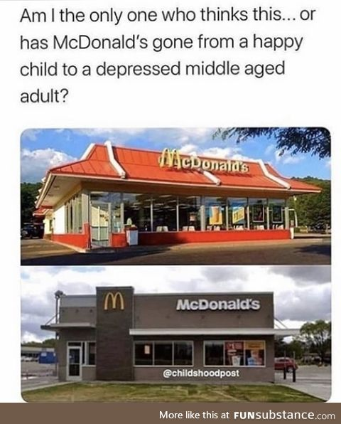 Instead of a happy meal, you'll get a depressed meal