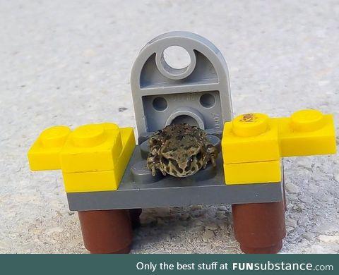"Froggo Fun #276 - ""You sit on a throne of Legos."""