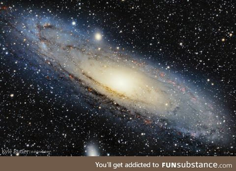 Our closest galactic neighbor; The Andromeda Galaxy