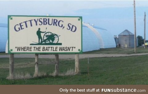 The town motto of Gettysburg, SD