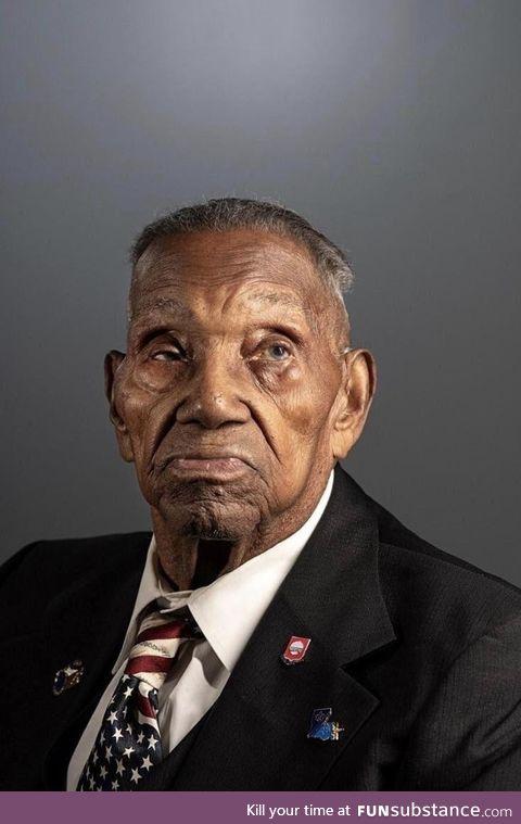Oldest living WW2 vet 110 years old