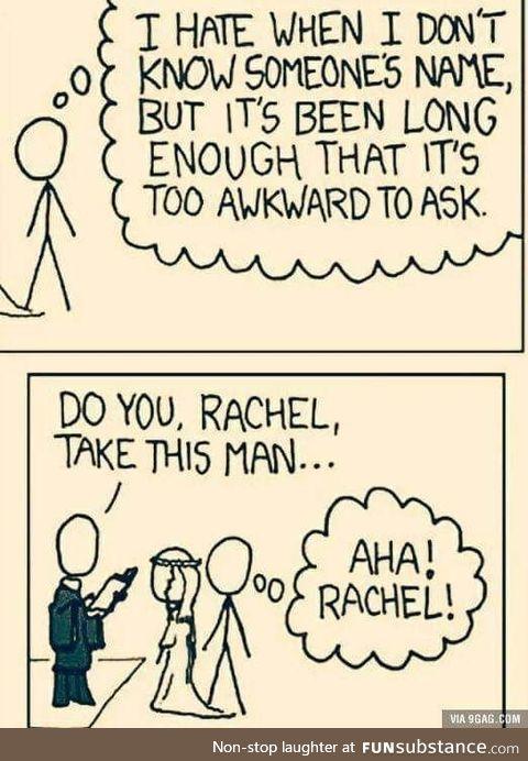 Too awkward to ask