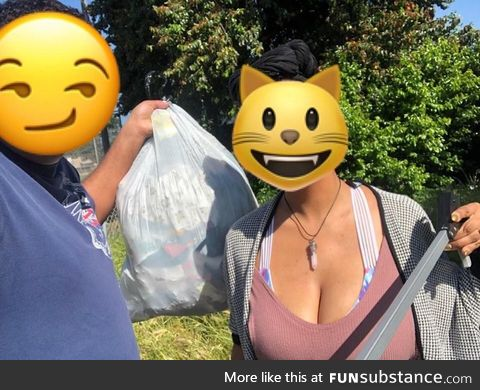 Oakland #TrashTag keep the clean dream alive