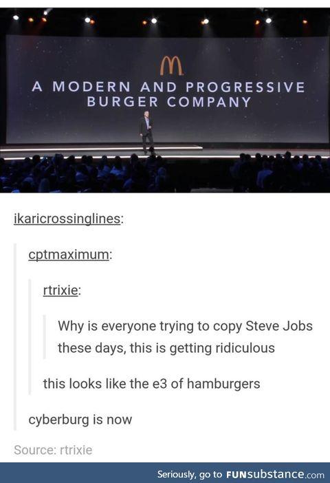 Progressive burgers